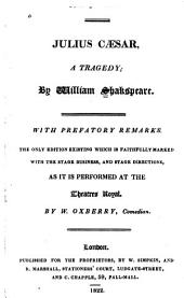 Julius Caesar: A Tragedy