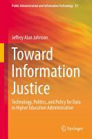 Toward Information Justice PDF