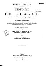 Saint Louis - Philippe le Bel. Les derniers Capétiens directs: 1226-1328