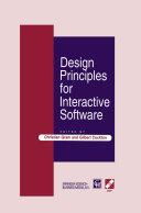 Design Principles for Interactive Software