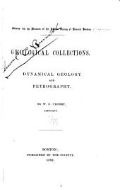 Geological Collections: Dynamical Geology and Petrography