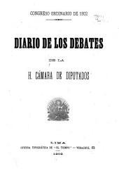 Diario de los debates de la Ca mara de Diputados