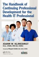 The Handbook of Continuing Professional Development for the Health IT Professional PDF
