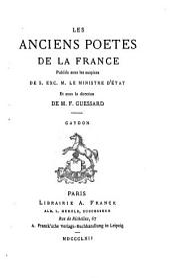 Gaydon: chanson de geste : publiée pour la première fois d'après les trois manuscrits de Paris