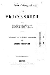 Ein Skizzenbuch von Beethoven