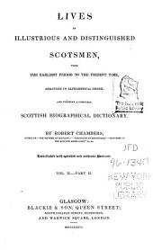 A Biographical Dictionary of Eminent Scotsmen: Volume 2, Part 2
