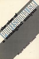 The Rise of Professionalism PDF