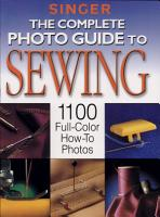 Complete Photo Guide to Sewing PDF