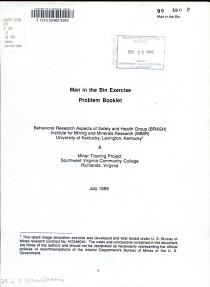 Man in the Bin Exercise PDF