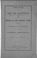Treatise on the Art of Knitting