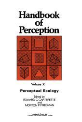 Perceptual Ecology