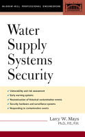 Water Supply Systems Security PDF