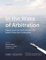 In the Wake of Arbitration PDF
