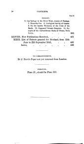 The Edinburgh New Philosophical Journal: Volume 39