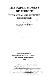 The Paper Moneys of Europe: Their Moral and Economic Significance