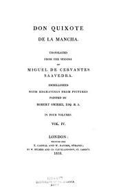 Don Quixote de la Mancha: Volume 4