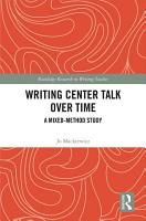 Writing Center Talk over Time PDF