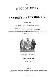 The Cyclopaedia of Anatomy and Physiology: Volume 2; Volume 4