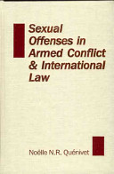 Sexual Offenses in Armed Conflict   International Law PDF