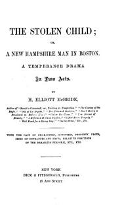 The Stolen Child  Or  A New Hampshire Man in Boston PDF