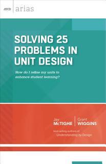 Solving 25 Problems in Unit Design Book