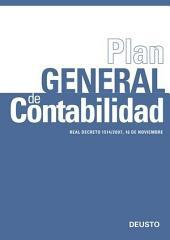 Plan General de Contabilidad: Real Decreto 1514/2007, 16 de noviembre
