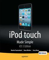 iPod touch Made Simple  iOS 5 Edition PDF