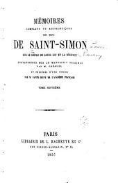 Mʹemoirs complets et authentiques du duc de Saint-Simon sur le siècle du Louis XIV et la rʹegence: Volume7