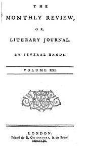 The Monthly Review, Or, Literary Journal: Volume 21