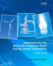 Indicators for the Asian Development Bank Energy Sector Operations (2005–2010)