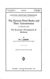 The German Great Banks and Their Concentration in Connection with the Economic Development of Germany: Page 34, Volume 14 - Page 35, Volume 14