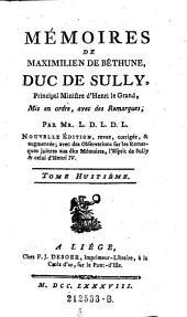 Memoires mis en ordre avec de remarques, par Mr. L. D. L. D. L. Nouvelle ed. (etc.): Volume 8