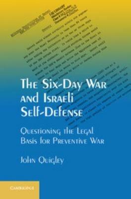 The Six Day War and Israeli Self Defense