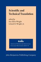 Scientific and Technical Translation PDF
