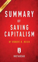Download Summary of Saving Capitalism Book