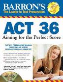 Barron s ACT 36 with CD ROM PDF