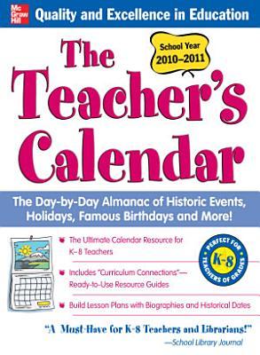 The Teachers Calendar  School Year 2010 2011 PDF