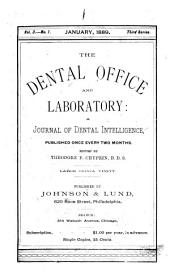 Dental office and laboratory: Volume 3