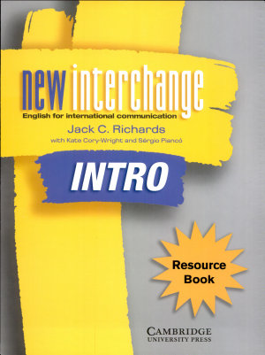 New Interchange Resource Book Intro PDF