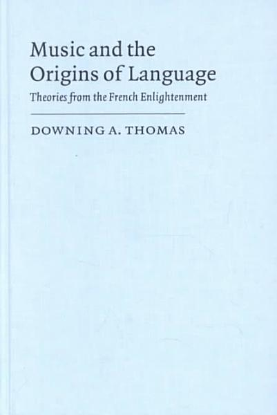 Download Music and the Origins of Language Book