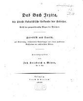 Das Buch Jezira: die älteste kabalistische Urkunde der Hebräer, nebst den zweiunddreißig Wegen der Weisheit : Hebräisch und Teutsch