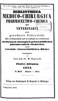 Bibliotheca medico chirurgica  pharmaceutico chemica et veterinaria PDF