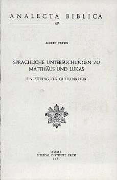 Analecta Biblica  Vol 49 PDF