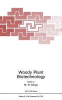 Woody Plant Biotechnology PDF