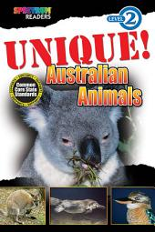 UNIQUE! Australian Animals: Level 2
