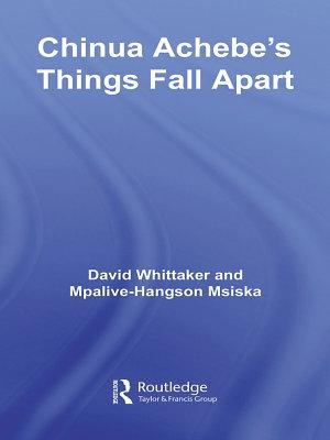 Chinua Achebe s Things Fall Apart PDF