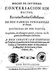 Noche de invierno: conversacion sin naypes : en varias poesias castellanas