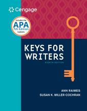 Keys for Writers: Edition 8