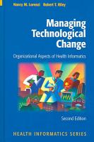 Managing Technological Change PDF