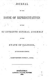 Journal of the House of Representatives of the General Assembly of the State of Illinois: Volume 2